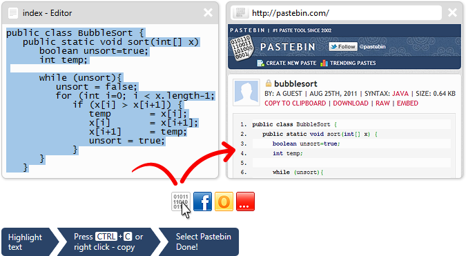 Image result for Pastebin